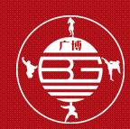 上海广博武术散打俱乐部logo